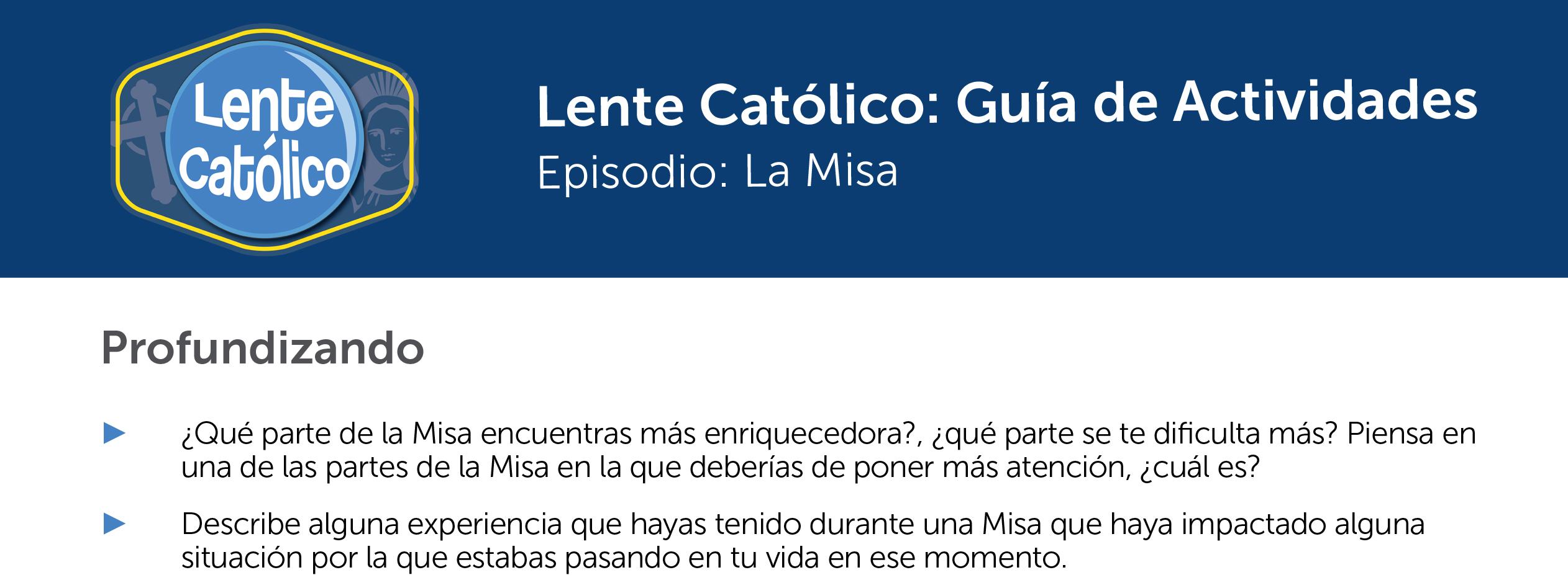 La Misa Photo Guide